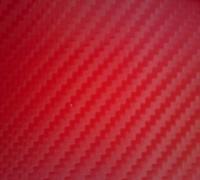 3D Red Karosseriefolie