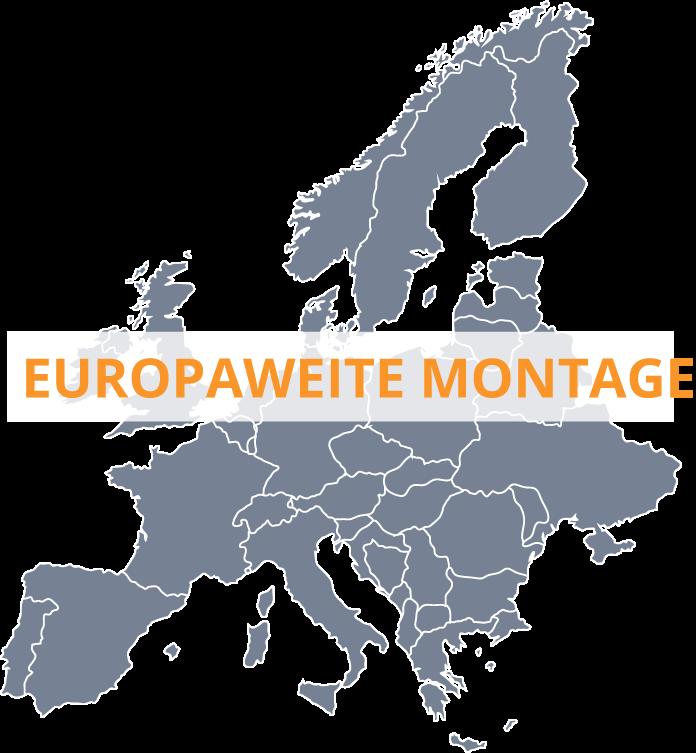 Europaweite Folienmontage durch Sun-Control